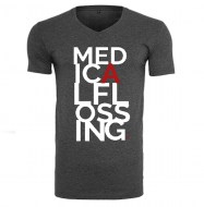 medical flossing, munkapóló, flossingpóló